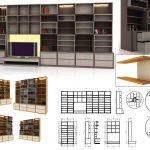 "Produktov dizajn - proekt biblioteka ""Kato shax"""