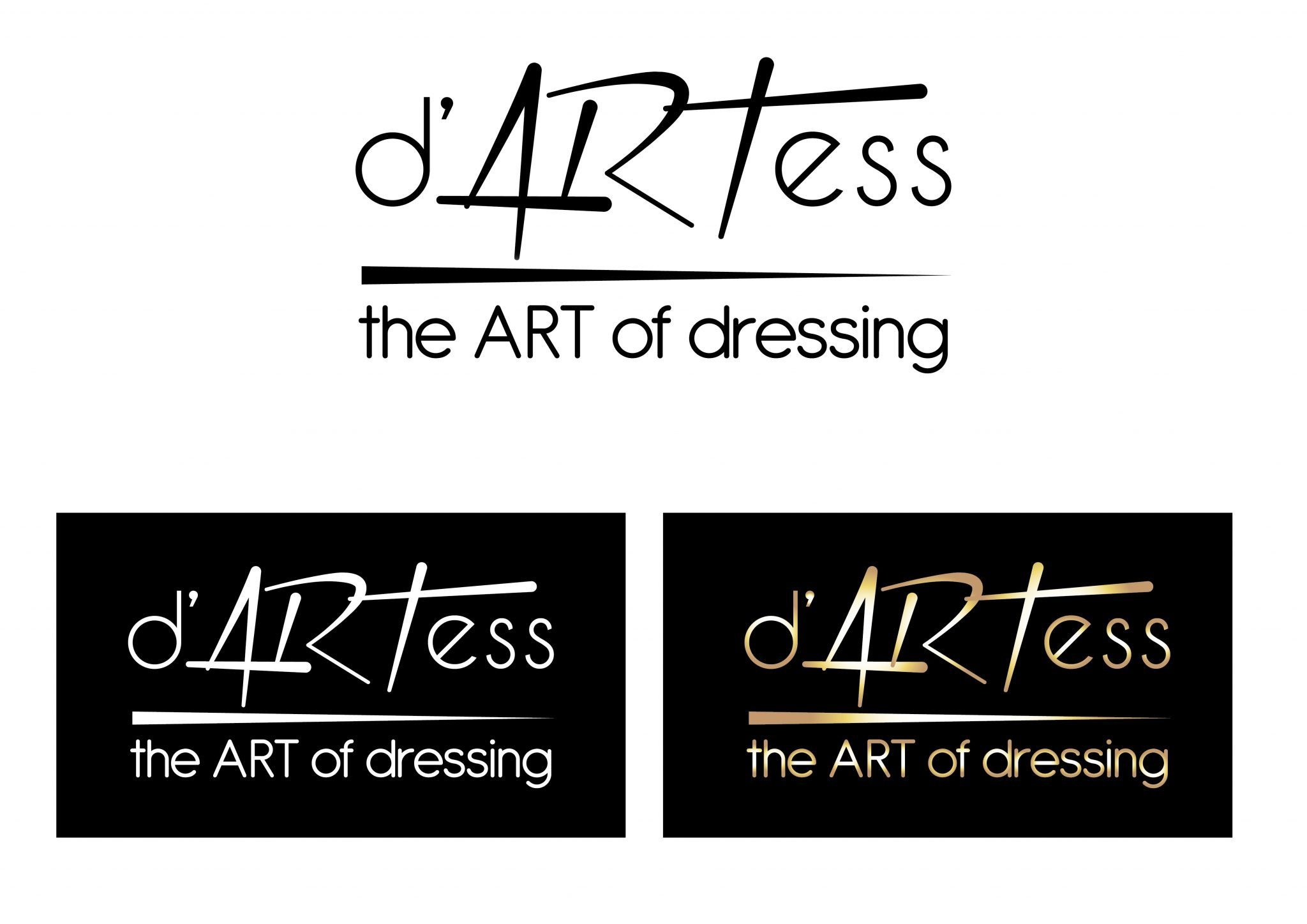 Grafichen dizain - Dartess logo